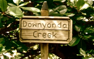 Downyonda Creek sign